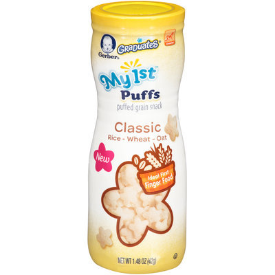 Gerber My 1st Puffs, 1.48 oz (Pack of 6)