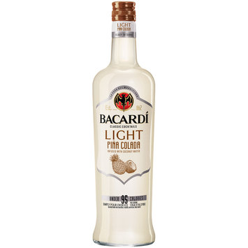 Bacardi Classic Cocktails Light Pina Colada 750mL