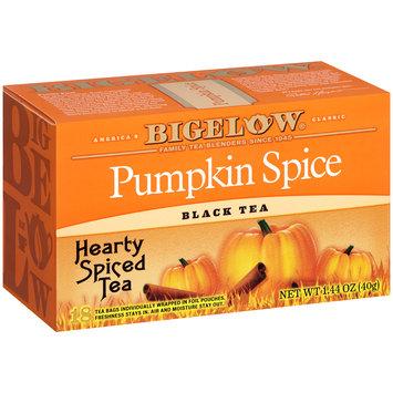 Bigelow® Pumpkin Spice Black Tea 1.44 oz. Box