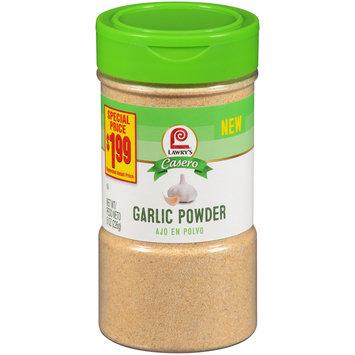 lawry's® casero garlic powder,