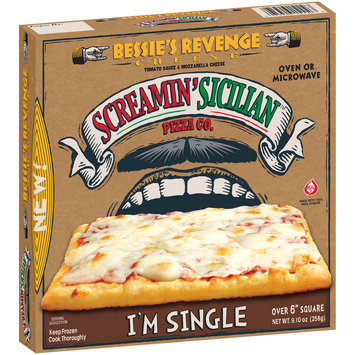 Screamin' Sicilian™ Pizza Co. Bessie's Revenge Cheese Pizza 9.10 oz. Box