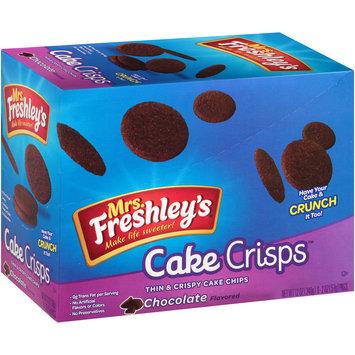Mrs. Freshley's® Cake Crisps™ Chocolate Thin & Crispy Cake Chips 6-2 oz. Box