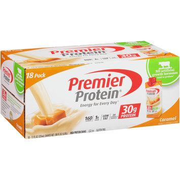 Premier Protein® Caramel Protein Shakes 18-11 fl. oz. Box