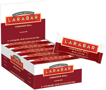 Larabar™ Limited Edition Cinnamon Roll Fruit & Nut Bars 16 ct Box