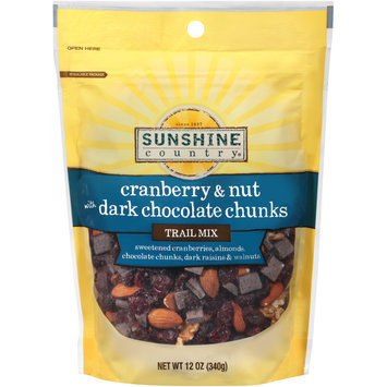 Sunshine Country® Cranberry & Nut Trail Mix with Dark Chocolate Chunks 12 oz. Bag