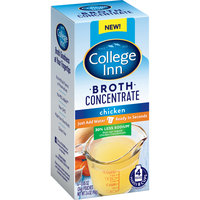 College Inn® 30% Less Sodium Chicken Broth Concentrate 4-0.85 oz. Pouches
