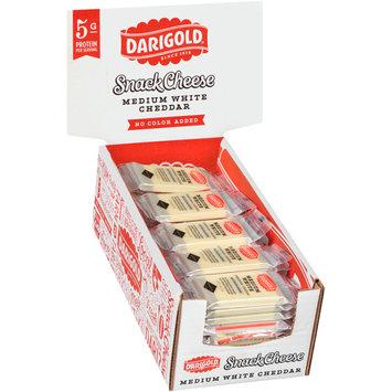 Darigold® Medium White Cheddar No Color Added Snack Cheese 50-0.75 oz. Packs