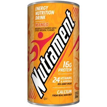 Nutrament® Mango Energy Nutrition Drink 12 fl. oz. Can