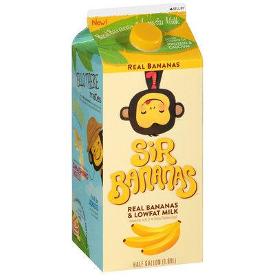 Sir Bananas™ Lowfat Bananamilk 0.5 gal Carton