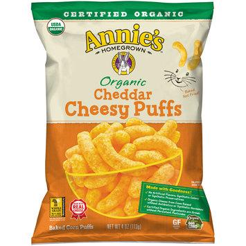 Annie's™ Organic Cheddar Cheesy Puffs 4 oz. Bag