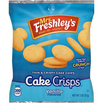 Mrs. Freshley's® Cake Crisps™ Vanilla Thin & Crispy Cake Chips 2 oz. Bag