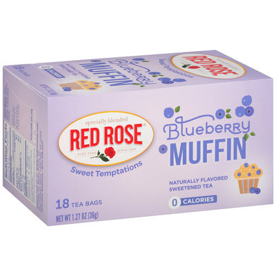 Red Rose® Sweet Temptations Blueberry Muffin Tea Bags 1.27 oz. Box