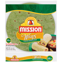 Mission® Garden Spinach Herb Wraps 24 ct Bag