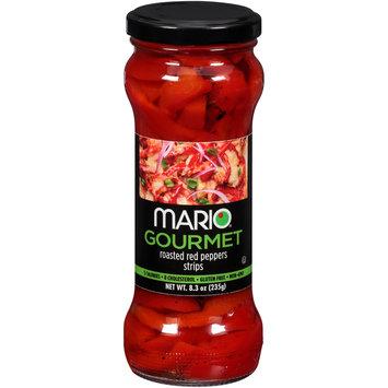 Mario® Gourmet Roasted Red Peppers Strips 8.3 oz. Jar