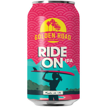 Golden Road Brewing Ride on IPA Beer 12 fl. oz. Can