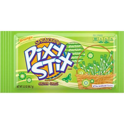 PIXY STIX Easter Grass Orange Candy 3.2 oz. Pouch