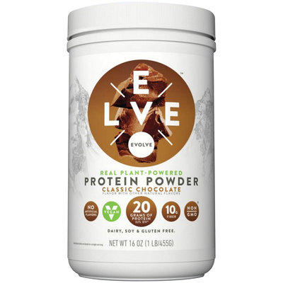 Evolve™ Classic Chocolate Protein Powder 16 oz. Canister