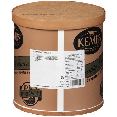 Kemps® Cotton Candy Ice Cream 3 gal. Tub