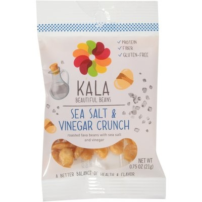 Kala Beautiful Beans Sea Salt & Vinegar Crunch 0.75 oz. Pouch