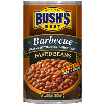 Bush's Best® Barbecue Baked Beans 28 oz. Can
