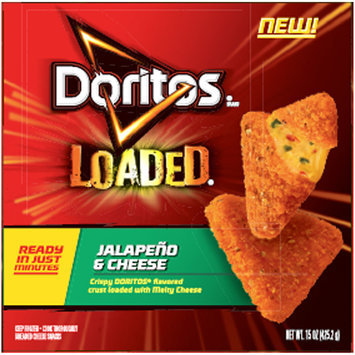 Doritos® Loaded® Jalapeno & Cheese Breaded Cheese Snacks 15 oz. Box