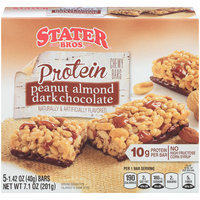Stater Bros.® Protein Peanut Almond Dark Chocolate Chewy Granola Bars 5-1.42 oz. Wrappers