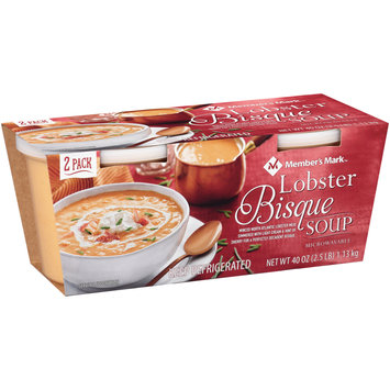 Member's Mark™ Lobster Bisque Soup 2 ct Sleeve