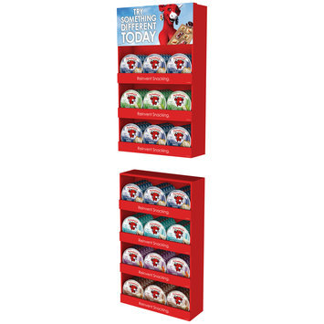 The Laughing Cow® Creamy Swiss Original/50% Less Fat/White Cheddar/Garlic & Herb/Spicy Display Cream Cheese