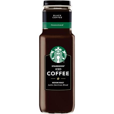 Starbucks® Unsweetened Black Medium Roast Latin America Blend Iced Coffee 12-11 fl. oz. Bottles