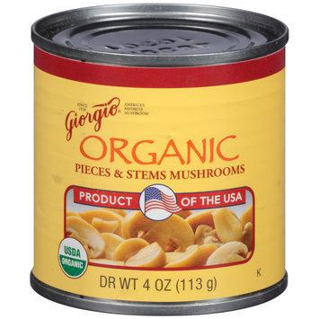 Giorgio® Organic Pieces & Stems Mushrooms 4 oz. Can