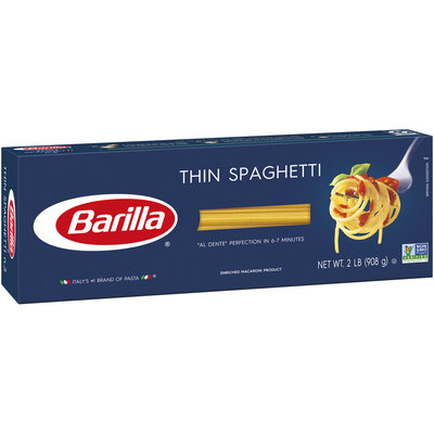 Barilla® Thin Spaghetti Pasta 2 lb. Box