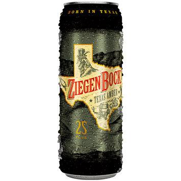 Ziegen Bock® Texas Amber Beer 25 fl. oz. Can