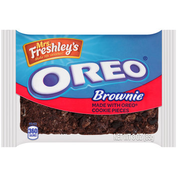 Mrs. Freshley's® Oreo® Brownie 3 oz. Pack