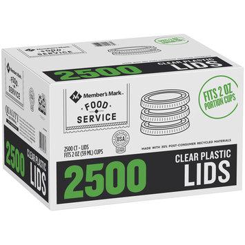 Member's Mark™ Food Service Clear Plastic Lids 2500 ct Box