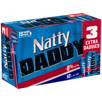 Natty Daddy® Lager Beer 15-12 fl. oz. Cans