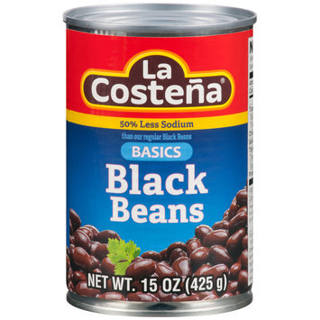 La Costena® Basics Black Beans 15 oz. Can