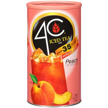 4C® Peach Iced Tea Mix 5.49 lb. Canister