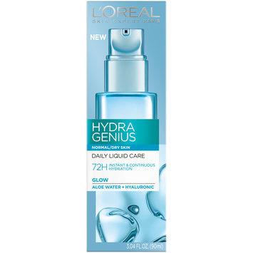 L'Oreal Paris Hydra Genius Normal/Dry Skin Daily Liquid Care 3.04 fl. oz. Box