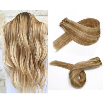 Tape in Human Hair Extensions Silky Straight Skin Weft Ombre Balayage Remy Hair Good Quality Beauty Hair Style 20 Pieces 50g Per Package(#1 Jet Black 14inch)