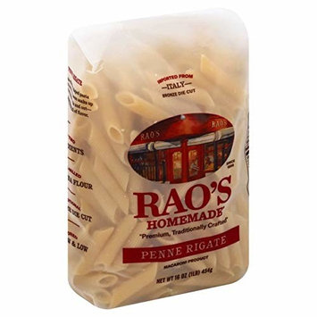 Raos Homemade Penne Rigate Italian Pasta 16 Ounce (Value Pack of 2)