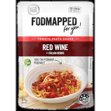 Fodmapped Foods Llc Tomato & Red Wine Pasta Sauce