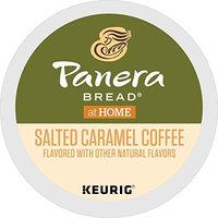 Panera Bread Salted Caramel, Single Serve Coffee K Cup Pod, Flavored Coffee, 72Count [Salted Caramel]