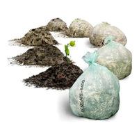 Plastics Solutions Eco Safe® Zero Waste Standard Liner Compostable Bag Transparent, 35 gal., 42