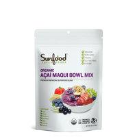 Sunfood Superfoods Acai Maqui Bowl Mix
