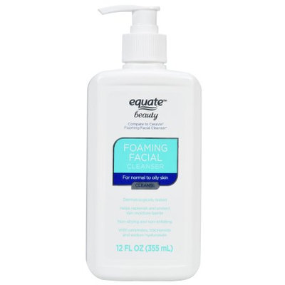Apollo Health & Beauty Equate Beauty Foaming Facial Cleanser, 12 Oz