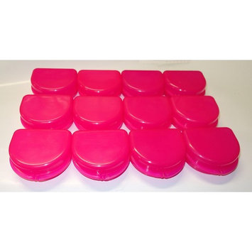 Dental Orthodontic 12 Retainer Denture Mouth Guard Case Bleach Tray Box ASSORTED