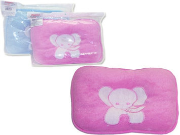 Family Maid 1996239 Baby Pillow with Elephant Design - Pink & Blue