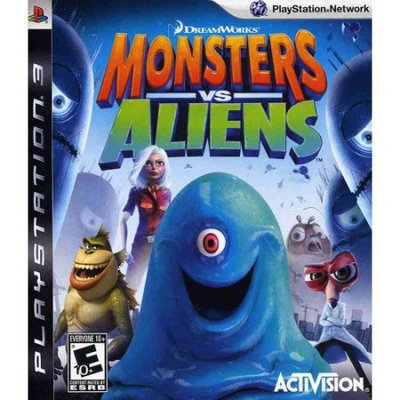 Activision Monsters vs Aliens (PlayStation 3)