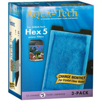 AquaTech EzChange Replacement Filter Cartridges, 3 ct