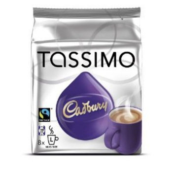 Cadbury Hot Chocolate, 8-count T-discs for Tassimo Brewers (3 Pack)